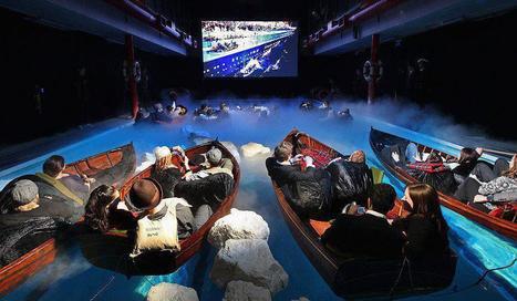 Une salle de cinéma pour regarder Titanic 3D   694028   Scoop.it