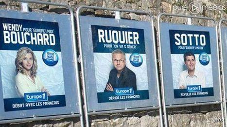 Pour sa rentrée, Europe 1 met ses animateurs en campagne électorale | Radioscope | Scoop.it