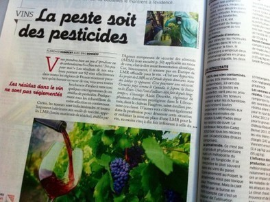 300 fois plus de résidus de pesticides dans le vin que dans l'eau potable | CRAKKS | Scoop.it