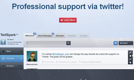 TwitSpark™ - zie wat er getwitterd wordt over de school en reageer hierop! | E-learning, Blended learning, Apps en Tools in het Onderwijs | Scoop.it