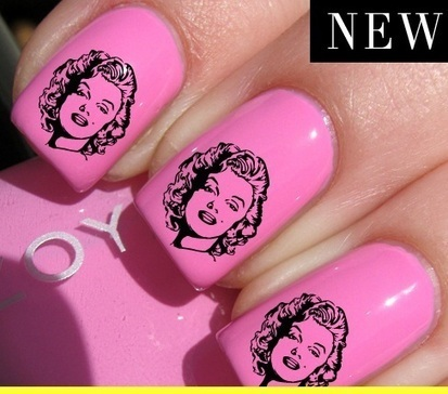 Marilyn Monroe Mani (Design #2) | Ebay,Etsy,Amazon | Scoop.it