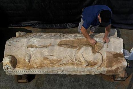 Descubierto un sarcófago romano de 2.000 años en una obra en Israel | Mundo Clásico | Scoop.it