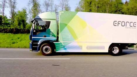 E-Force Develops 18-Ton Electric Truck With 300km Range   IAATI Australasian Branch   Scoop.it