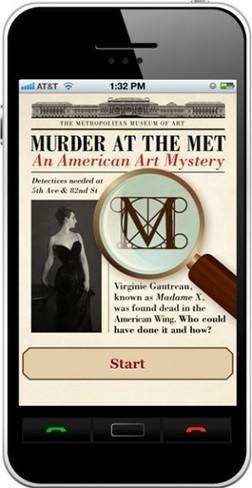 Meurtre au MET : une nouvelle application mobile pour jouer dans (avec) les collections | Musée, musées, numérique | Scoop.it