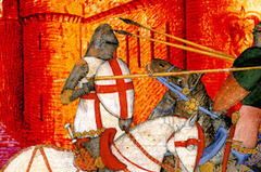 Joute Equestre et combat de chevaliers dans un château médiéval en Indre-et-Loire (37) - Château du Rivau | Vacances en Touraine Val de Loire (37) | Scoop.it