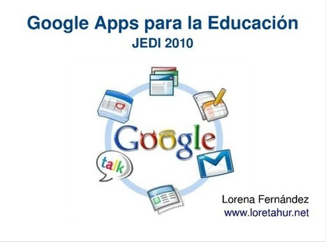 Aplicaciones Google - Trabajo por proyectos en el ámbito artístico: la Red como recurso | ARTE, ARTISTAS E INNOVACIÓN TECNOLÓGICA | Scoop.it