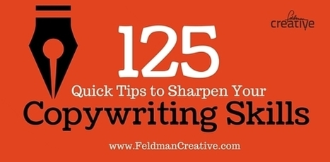 125 Quick Tips to Sharpen Your Copywriting Skills | Redaccion de contenidos, artículos seleccionados por Eva Sanagustin | Scoop.it