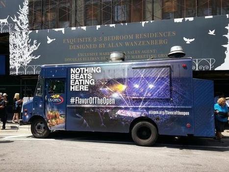 L'US Open part à la conquête des Fans en Food Truck dans les rues de New York | streetmarketing | Scoop.it