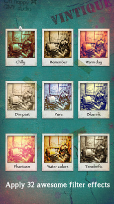 Turn Pics Retro with Vintique Vintage Photography App | Best iPhone Apps and iPad Apps | Scoop.it