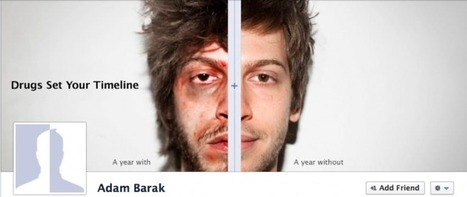 Anti Drugs campaign uses shocking Facebook pictures on timeline | Analytics & Social media impact on Healthcare | Scoop.it