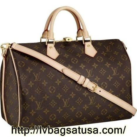 Louis Vuitton Speedy 35 Monogram Canvas M40392 Handbags | Louis Vuitton Outlet Online Sale_lvbagsatusa.com | Scoop.it
