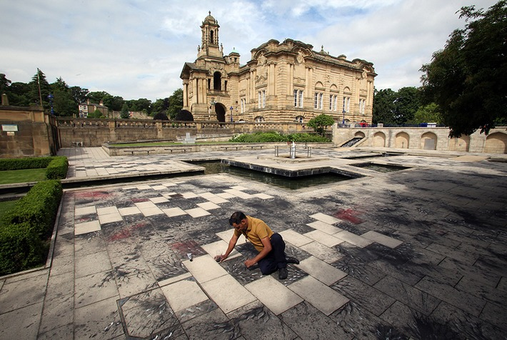 Imran Qureshi unveils his largest outdoor commission in Bradford | Art Daily | Asie | Scoop.it
