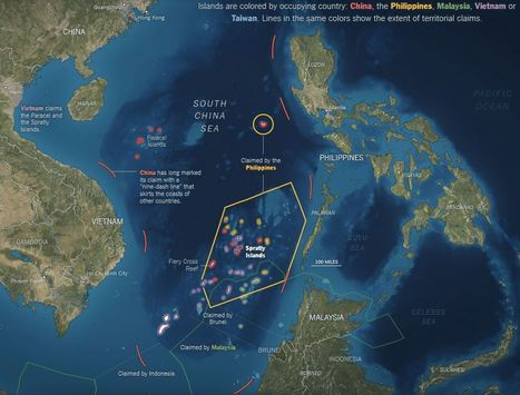 What China Has Been Building in the South China Sea | Géopolitique & Cartographie | Scoop.it