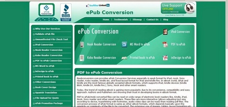 Epub Conversion Offers Speedy Kindle Conversions, Equipped with Stunning Cover Design Services | Ebook Conversion Service | Scoop.it