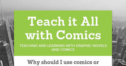 Teach it All with Comics | TCEA 2014 | Scoop.it