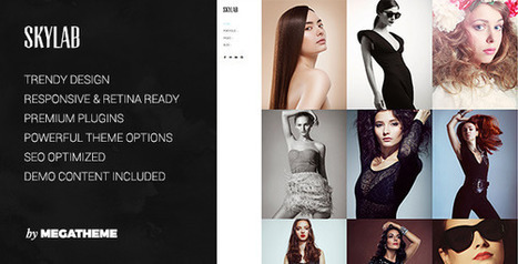 12 Best Selling Creative Photography WordPress Themes | Collection of creative themes and templates. | Scoop.it