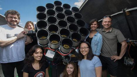 Um Telescópio feito com 24 lentes de US$ 10.000. Cada. | Heron | Scoop.it
