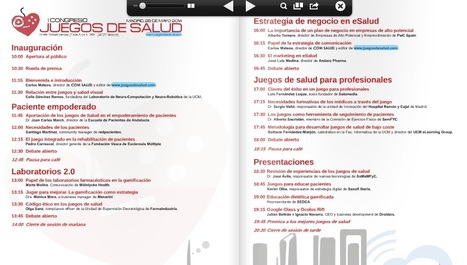 Primer Congreso Nacional de Juegos de Salud | eSalud Social Media | Scoop.it