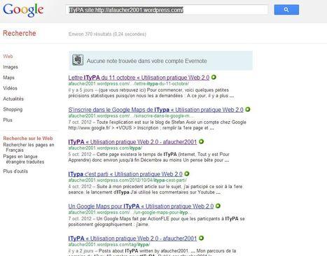 Astuce Google : recherche dans unsite | Time to Learn | Scoop.it