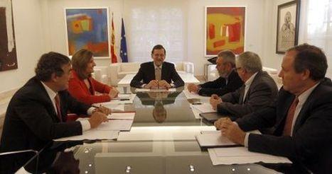 Rajoy reúne por primera vez a todos los agentes sociales en La Moncloa | Las cosas que me importan | Scoop.it