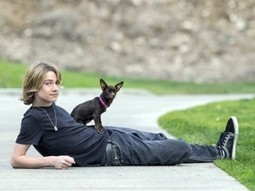 Growing animal rescue group is work of teen actor - Sonoma Pets | Animals R Us | Scoop.it