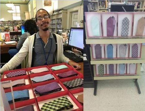 This Public Library Lets Job-Seekers Check Out Ties | innovative libraries | Scoop.it