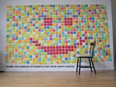 The Happy Post Project: Spreading Cheer Via Post-It Note | Happy {organisation} | Scoop.it