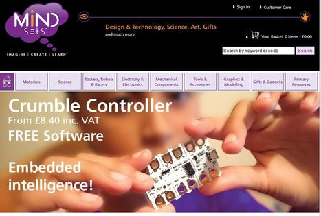 Mindsets - online shop electronics and DT materials | talkprimaryICT | Scoop.it