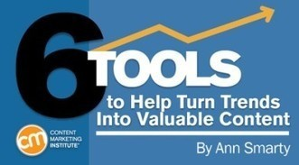 6 Tools to Help Turn Trends Into Valuable Content | Surviving Social Chaos | Scoop.it