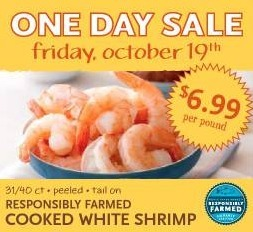 Whole Foods: Farm Cooked White Shrimp for $6.99/lb (FRIDAY ONLY)! | Saving Money and Being Frugal | Scoop.it