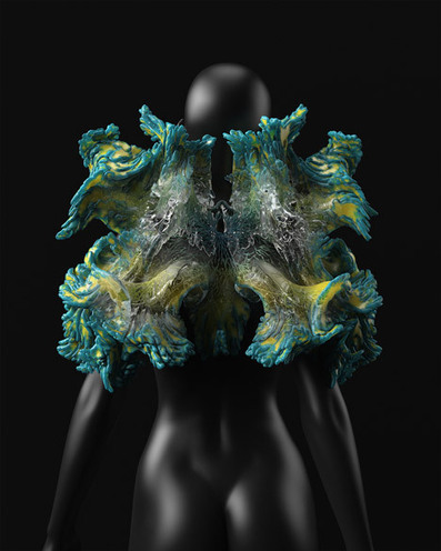 Neri Oxman creates 3D-printed structures for interplanetary voyages | Digital Design and Manufacturing | Scoop.it