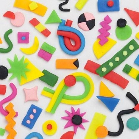 Tipografía de plastilina | El Mundo del Diseño Gráfico | Scoop.it
