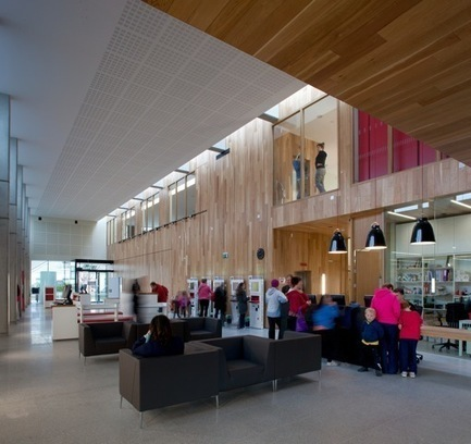 Ballyroan Library / Box Architecture | ArchDaily | Libraries YYC | Scoop.it