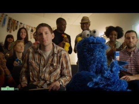 Cookie Monster Shares It (Maybe) | PuppetVision Blog | Poetic Puppets | Scoop.it