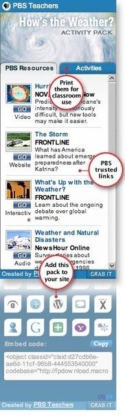 PBS Teachers | Activity Packs | educational technology for teachers | Scoop.it