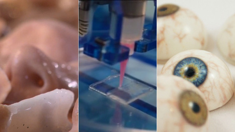 How 3D Printers Are CRANKING OUT Eyes, Bones, and Blood Vessels | Machines Pensantes | Scoop.it