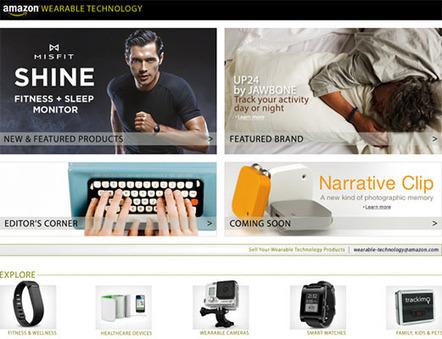 Amazon estrena una tienda sólo para tecnología wearable | Technology | Scoop.it