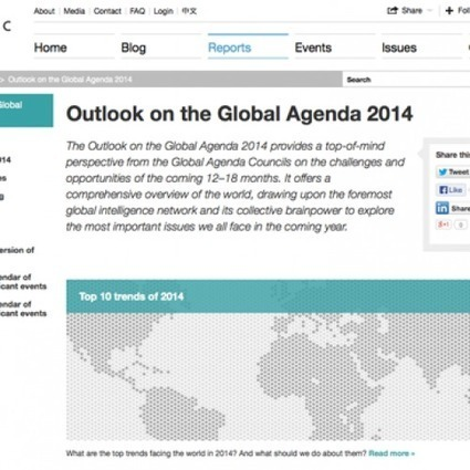 Outlook on the Global Agenda 2014 | Designing design thinking driven operations | Scoop.it