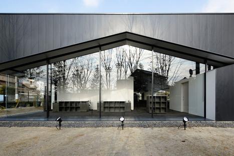 sugawaradaisuke: aqua plannet headquarters / office in forest | global workplace design | Scoop.it