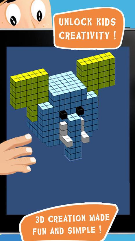 Blox 3D Junior : blocs de construction (iPad, iPhone) - pour développer des compétences dans le domaine de l'espace. | Education | Scoop.it