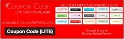 Coupon Code (LITE) - Provide Coupon Codes That Cannot Be Copied Without The User Visiting Your Affiliate Link Free Download | Wordpress | Scoop.it