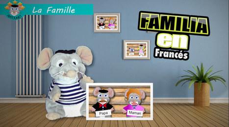 Ratounet canta la familia en Francés | Learn French online | Scoop.it