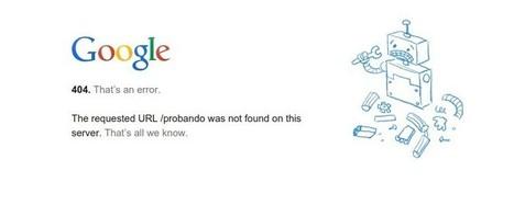 Google dice adiós al error 404 con un nuevo estándar para tener la web siempre disponible | Social Media | Scoop.it