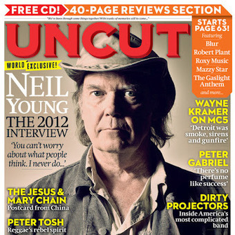 Uncut Magazine Cover of Neil Young - Neil Young News | Bruce Springsteen | Scoop.it
