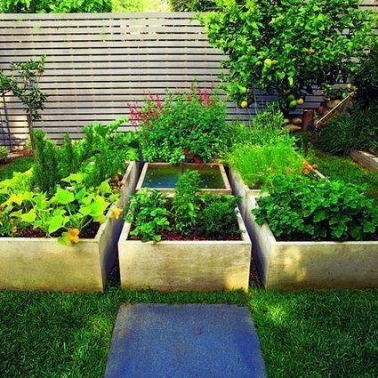 Growing Squares:  A Kitchen Garden | Astuces au jardins | Scoop.it