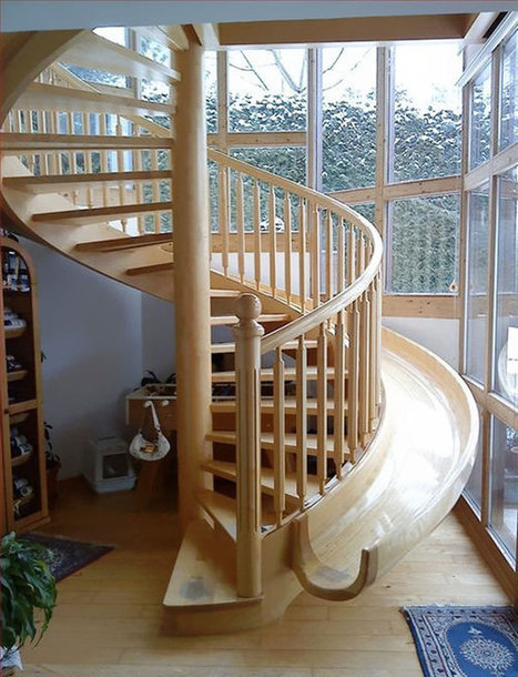 25 Unusual and Creative Staircase Designs   Southern NH Real Estate News ~Jay & Monika McGillicuddy 603-944-9172   Scoop.it
