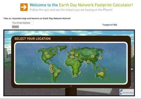 Ecological Footprint Quiz   Earth Day   Connected Teens   Scoop.it