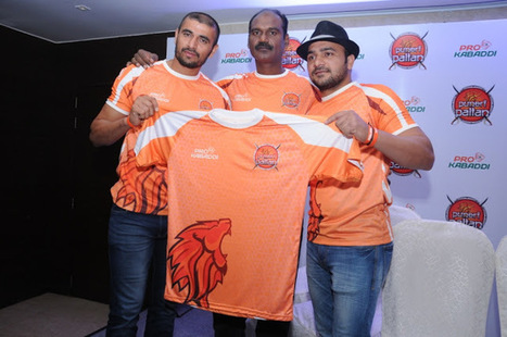 Puneri Paltan launches their armour for the mat Season 4 jersey launch | News Attitude | Scoop.it