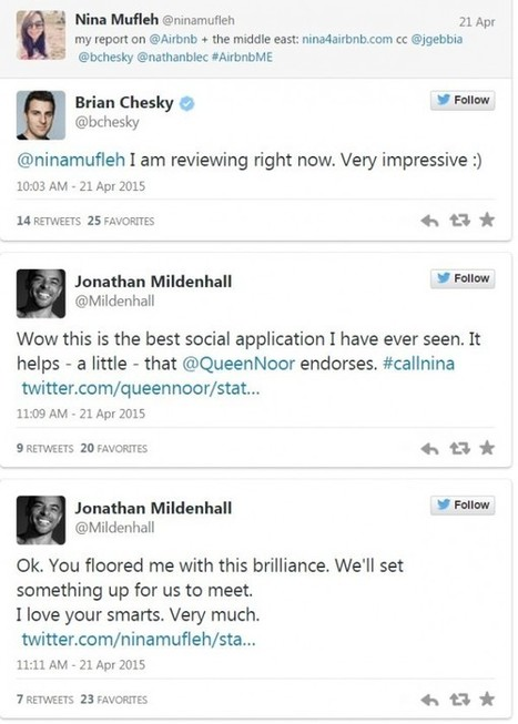 This Woman's Innovative 'Resumé' Thoroughly Impressed Airbnb's CEO | Social Media & Content Marketing | Scoop.it