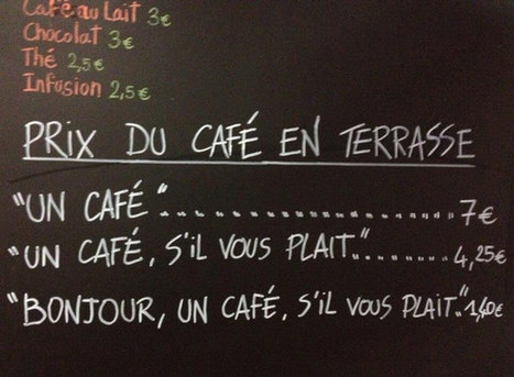 French Café Adds Extra Charge for Rude Customers | Tudo o resto | Scoop.it